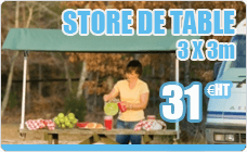 Store laptop dual slope demontable picnic 2.2M