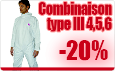 Coverall type 4 5 and 6 cat III CE-rolled