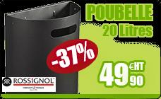 Bin wall detachable Rossignol manganese gray 20L