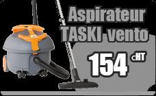 Vacuum cleaner Taski Vento 8 full