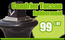 Rubbermaid Groundskeeper Tuscan black ashtray