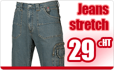 Work pants stretch jeans